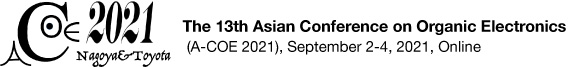 The 13th Asian Conference on Organic Electronics (A-COE 2021)